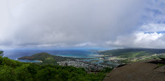 Koko Head Panorama4 (jasonclarkphotography) Tags: america christchurch clouds crater emount green hawaii honolulu jasonclark jasonclarkphoto jasonclarkphotography kokohead landscape light nex nz natural newzealand oahu sony sky usa volcano waikiki walkway water a6000 alpha blue blues