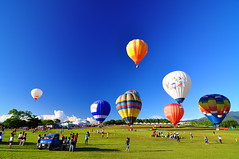 Balloons Festival @ (Vincent_Ting) Tags: festival balloon bluesky