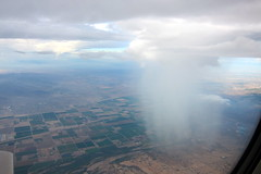 Rain cloud over Phoenix