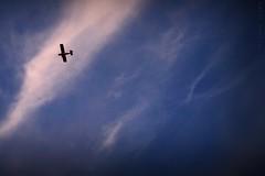 3.034 - (Ricardo Cosmo) Tags: sky cloud airplane flying high céu avião nuvem olympuspen alto voando duetos ricardocosmo mzuiko