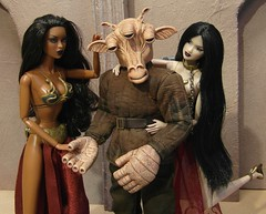 Ree Yees - babe magnet (MiskatonicNick) Tags: starwars dolls 16 12 custom adele ayumi gand fashionroyalty reeyees enaud