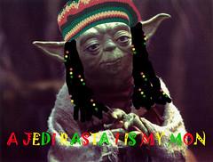 jedi rasta (res510) Tags: film dreadlocks photoshop movie starwars funny yoda jamaica parody spoof reggae dreads jamaican rasta rastafarian