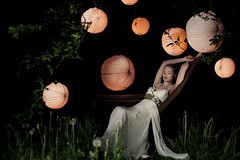 Lampion Night (David Pinzer) Tags: summer fashion night design mood dress dream atmosphere hammock lantern couture lampion calesco