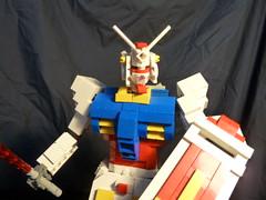 Gundam RX 78-2 Redux in Lego 2 (boyzwiththemosttoyz) Tags: lego gundam mecha mech rx782