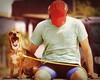 AAA (fertomiello) Tags: sol banco pelotas trapiche laranjal feriado bocejo cachorra calçadão caramelo mauríciopolidori