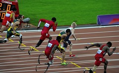 Men's 100m T44 at the Paralympics, London, 6th September 2012 (Belhaven2011) Tags: uk greatbritain england men london field bronze silver gold athletics nikon track bladerunner stadium wheelchair peacock elite runners blade olympic athletes olympics athlete runner sprint goldmedal blades weir browne paralympics 100m trackandfield london2012 sprinter javelin pistorius oscarpistorius t44 davidweir 100metres 55300 d5000 eliteathlete richardbrowne 1685mm 55300mm jonniepeacock blakeleeper jeromesingleton runnerjpg athleticsjpg londonjpg alanfontelescardosooliveira arnufourie