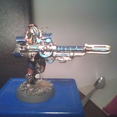Necron Deathmark (geekolas) Tags: space battle 40k warhammer warriors marines 40 000 wargames immortals necrons immortels