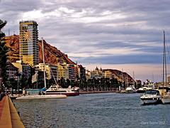 Alicante (Charo Castro) Tags: espaa spain alicante mediterrneo marmediterrneo puertodeportivo comunidadvalenciana puertodealicante puertodeportivodealicante