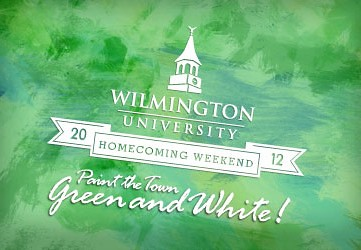 Wilmington University Homecoming Weekend 2012 - Paint the Town Green and White!