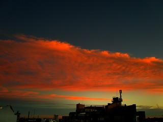Desde mi terraza. / From my terrace.