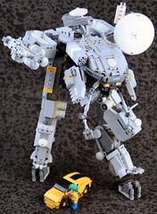 Svarog (Mechanekton) Tags: lego space military machine scifi mecha cyberpunk mech worldinconflict biomachine