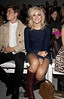 Oliver Cheshire and Pixie Lott London Fashion Week Spring/Summer 2013