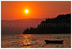 Sunset at Ohrid (Macedonia). 20120827 (gimmenine) Tags: voyage trip travel beautiful nice nikon image macedonia ohrid visual cheap camara imagen reportage viajar d300 reportaje albertoconcejal