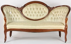 30. Finely Upholstered Victorian Sofa