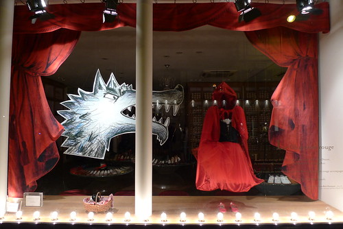 Vitrine Repetto - Paris, septembre 2012