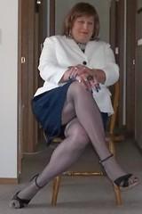 100_0402 (didi_lynn) Tags: sexy drag pumps highheels sandals cigarette smoke jewelry pearls crossdressing hose smoking redhead tgirl upskirt hosiery dragqueen stiletto pantyhose crossdresser crossdress gurl platforms tg stilettos businesssuit sexylegs longlegs stilettoes nylons classy rednails pearlnecklace girdle longnails cfm peeptoes vs120