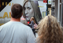 (EYECCD) Tags: street city nyc newyork bus public advertising candid ad advert cheers chuck clairedanes cheers2 550d exceptsunday chuck2 chuck3 chuck4 chuck6 chuck9 chuckedoutbythepigsty chuck5 chuck7 chuck8 chuck10