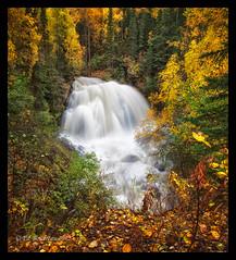 After The Rain (Ed Boudreau) Tags: storm waterfall fallcolors mygearandme