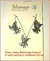 "FVBEF pewter eagle earring and necklace $7 set $12 • <a style=""font-size:0.8em;"" href=""https://www.flickr.com/photos/51193137@N08/8024768312/"" target=""_blank"">View on Flickr</a>"