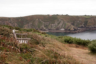 Gouliot Bay from Pilcher Monument - Sercq