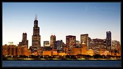 Chicago Skyline (Josh Merrill Photography) Tags: sunset copyright chicago skyline digital illinois downtown photographer lakemichigan il josh planetarium dowtown allrightsreserved lisle adlerplanetarium cityskape joshmerrillphotography joshmerrillphotographycom joshmerrill merrilljoshua