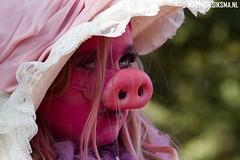 WS20120930_0050 (Walther Siksma) Tags: world pink people holland festival arnhem statues humanstatues 2012 roze gelderland levendstandbeeld worldstatues levendestandbeelden worldstatuesfestival walthersiksma