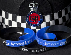 Wrist Bands for Nicola and Fiona (Greater Manchester Police) Tags: manchester wristband gmp greatermanchesterpolice nicolahughes fionabone