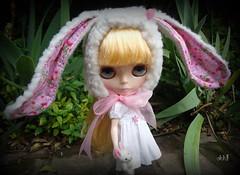 ohh!! rabbit hat