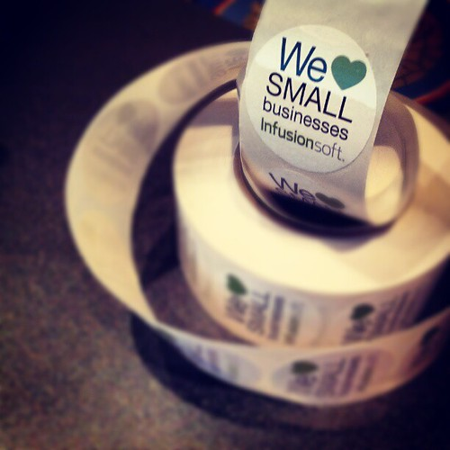 We <3 Small Businesses! @Infusionsoft he by joe-manna, on Flickr