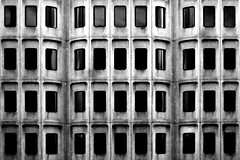 (Delay Tactics) Tags: windows bw white black london st facade town hall camden library explore pancras 44