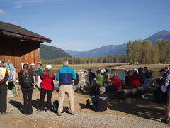 BC Rivers Day, Sept 30th, 2012 (Hope Mountain Centre) Tags: skagit rosslake skagitriver seec riversday skagitenvironmentalendowmentcommission hopemountaincentre hmcol kenfarquharson tombrucker
