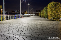 Clydeside (DMeadows) Tags: lighting light water architecture night reflections river dark landscape lights evening scotland riverclyde clyde bush long exposure pavement stones glasgow bin cobble hedge paving cobbles pedestrianised davidmeadows dmeadows davidameadows dameadows yahoo:yourpictures=waterv2 yahoo:yourpictures=yourbestphotoof2012 yahoo:yourpictures=light