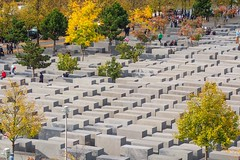 Holocaust Memorial from above (Lens Daemmi) Tags: berlin germany holocaust memorial europe jews mahnmal murdered juden denkmal x10 europas tagderdeutscheneinheit ermordete von from oben above