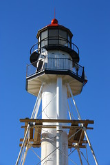 IMG_3619 (SweetMeow) Tags: lighthouse michigan lakesuperior whitefishpoint whitefishpointlighthouse cranefest graveyardofthegreatlakes