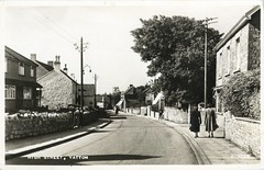 Yatton - High Street - 1950s (TempusVolat) Tags: road street old houses house history vintage geotagged high pub inn mr scanner postcard scan semi 1950s scanned 1957 oldphoto historical epson scanning edwards gw gareth oldpicture perfection detached butchers tempus princeoforange kinross semidetached localhistory v200 vintagephoto yatton bellinn morodo epsonperfection volat mrmorodo ffosyffin garethwonfor tempusvolat yattonhistory oldyatton historyofyatton