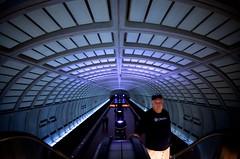 For Obama (pablo.raw) Tags: station subway dc washington metro escalator columbia dcist vault heights wmata