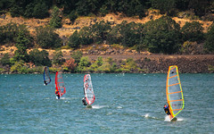 Wind Surfing on the Columbia (ScenicScapes) Tags: travel sexy sports water beauty sport sex oregon river outdoors scenery sailing scenic surfing boating windsurfing scenics photoscenics