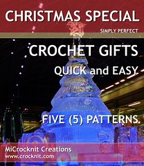 CHRISTMAS SPECIAL by crocknit (waterdragonsag) Tags: hat scarf handmade crochet pdf beanie quick slippers mittens christmasgifts epatterns easypatterns