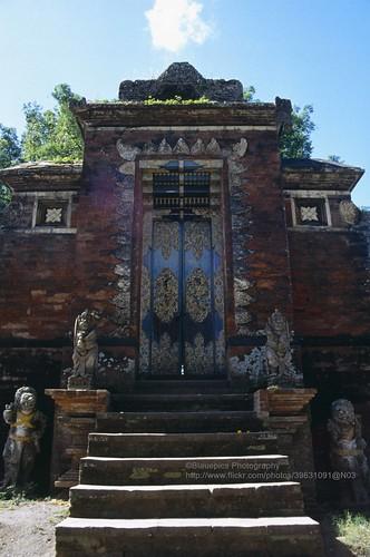 Lombok, Pura Lingsar, Gate