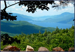 View from Prospect Mt. summit (edenseekr) Tags: mountain summit prospectmt lakegeorgeny thenarrows adirondacks