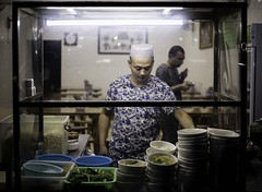 Home Cookin' (Aaron Guy Leroux) Tags: aaronguyleroux associatedpress a7ii china downtown expat islam night photojournalism nightlights muslimquarter reuters streetphotography xian zeiss35mm