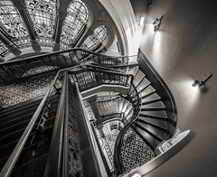 QVB Stairs (Michael Rawle) Tags: things building cityscape sydney shopping places qvb newsouthwales australia au