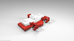 belos_07 (pehter aka ibbe) Tags: tractor lego gravely mocs lawnmover belos