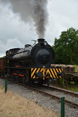 RS&H 7086 'Norman' (IndustrialMadness) Tags: smoke railway steam norman soot gala colliery foxfield ncb austerity 7086