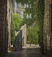 Vznobres, France (ParadoX_Design) Tags: village city france vezenobres living medieval stonee ivy lierre green old travel tourisme street beautiful pretty shutters olympus em10 omd