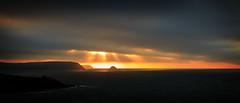 Let there be light (aj_nicolson) Tags: appicoftheweek coast sea dawn sunrise morninglight rays cornwall cornish morning outdoors landscape seascape clouds orange