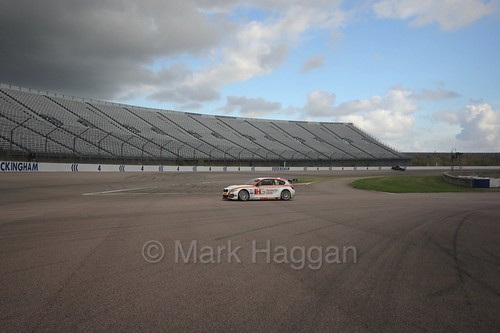 Jack Goff heads to the grid at Rockingham, August 2016