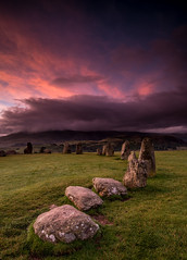 Castlerigg Dawn. (Squareburn) Tags: sunrise dawn castlerigg stonecircle lakedistrict cumbria keswick