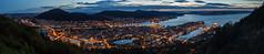 Bergen at Night.jpg (Markus Hoffmann (Maggifu)) Tags: norwegen streiseziele landschaft techniken hdrdri berge panorama nachtaufnahmen seeundmeer bergen hordaland no