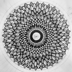 altardala (Miserable_Wench) Tags: mandalas madala zentangleinspired artwork art zendoodle zendala mandaladoodle doodles doodling doodle doodleart sketch sketches sketchbook inkonpaper ink penandpaper quill detailed fineline